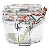 Rocco Bormioli 292075 -  Tarro Hermético con tapa, vetro, trasparente, 1115 ml, 1 unidad