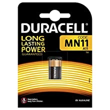 Duracell Alkaline MN11, 1 Battery in a Pack