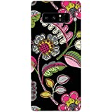 Samsung Note 8 Cases And Covers Handdrawn Floral Printed Floral Pattern Designer Printed Hard Shell Case