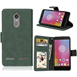 BONROY Case,Lenovo K6 Power Flip Leather Case, Shockproof