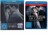 Fifty Shades of Grey -Geheimes Verlangen (Steelbook)+ Gefährliche Liebe-Blu-rays-1+2-SET