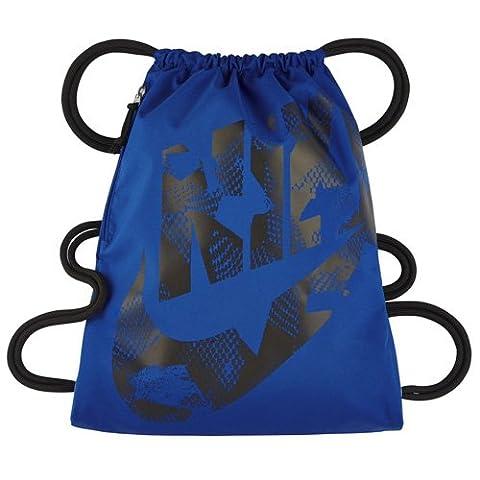 Nike Uni Heritage Trainingsbeutel, Paramount Blue/Black, One Size