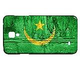 Schutzhülle für Samsung Galaxy S4 Mini Flagge MAURETANIEN 07