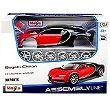 alles-meine.de GmbH Bugatti Chiron Coupe Rot Ab 2016 39514 Bausatz Kit 1/24 Maisto Modell Auto