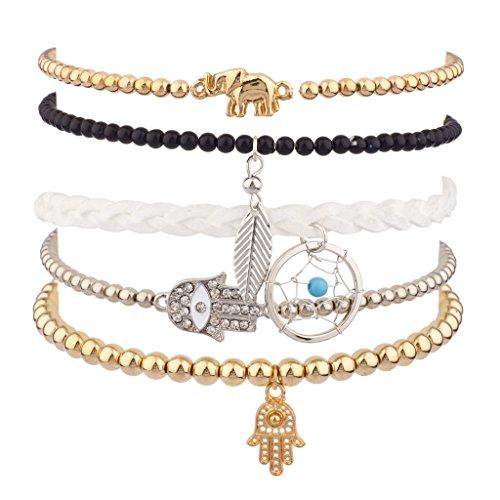 lux-accessories-set-braccialetti-elasticizzati-in-metallo-con-elefante-foglia-occhio-del-diavolo-acc