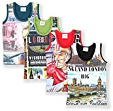 TONYBOY Boys Printed Vest (Pack Of 4)