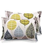 "Ahmedabad Cotton 2 Piece Cotton Pillow Cover Set - 18""x27"""