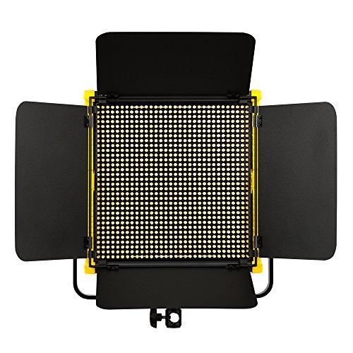 IKAN Onyx OYB10 1 x 1 Bi-Color Aluminum LED Light schwarz/gelb