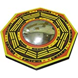 Plusvalue Feng Shui Bagua Pakua Convex Mirror Deflect Negative Energy & Protection 4.5inches