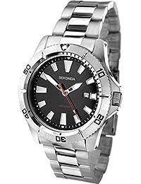 SEKONDA 1007.27 - Reloj de pulsera para hombres, color plata