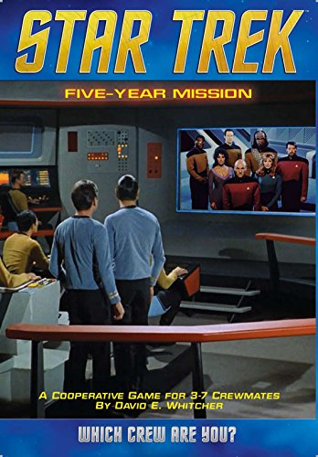 Mayfair Games - Star Trek: Five Year Mission, Gioco da tavolo cooperativo