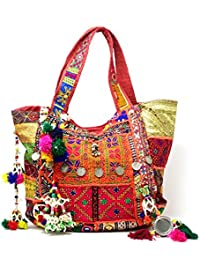 Indian Bohemian Handmade Shoulder Bag - Vintage Upcycled Fabric By East Of The Sun