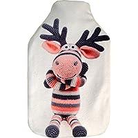 Vagabond Bags Ltd Socke Elch 2Liter Wärmflasche und Bezug preisvergleich bei billige-tabletten.eu