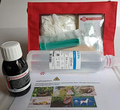 Hunde-Notfallkofferset bei Vergiftungen