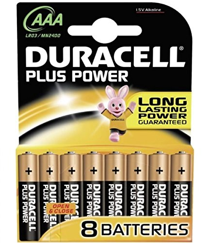 DURACELL Alkaline Batterie ´PLUS POWER´, Micro AAA, 8er, 20 (Duracell Aaa 20)