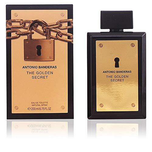 Antonio Banderas THE GOLDEN SECRET MAN Eau de Toilette Zerstäuber 200ml -