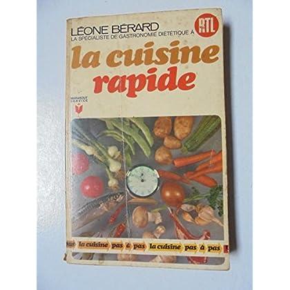 La cuisine rapide - pas a pas - n°182 de la collection marabout service