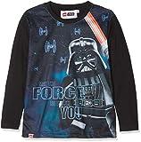 Lego Wear Jungen Langarmshirt Lego Boy Star Wars CM-73425 Schwarz (Black 995) 146