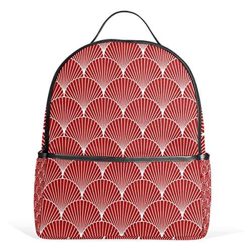 School Bag Sea Shel Studentenrucksack for Boys Teen Girls Kids
