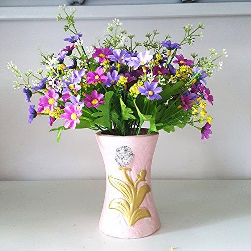 Lx.AZ.Kx Arredamenti per la casa sono un soggiorno arte floreale di ornamenti Fiori artificiali fiore di emulazione arredate con vasi di tavolo da pranzo vasi Kit,saltare Lan Kit Ju