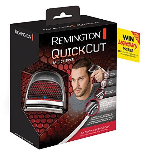 Remington HC4250 QuickCut   Cortapelos  tecnología de cuchilla Curvecut  nueve peines guía 1 5   15 mm  40 minutos de autonomía