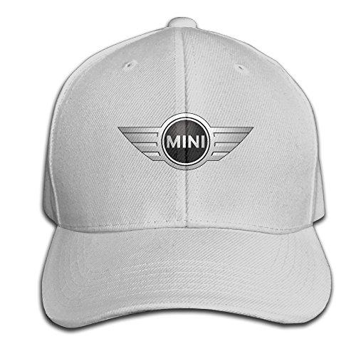 BACADI Unisex Mini Cooper Logo Adjustable Peaked Baseball Caps Hats Duck Tongue Hat