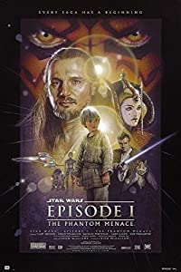 STAR WARS Episodio 1 The Phantom Menace - Póster