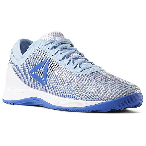 Reebok Crossfit Nano 8.0, Sneaker in Tessuto Flessibile Donna, Multicolore (Denim Glow/White/Crushed Cobalt 000), 38 EU
