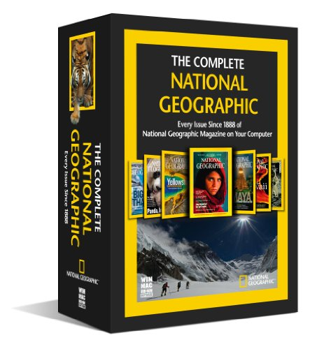 Topics Entertainment The Complete National Geographic - Every Issue Since 1888 (DVD)