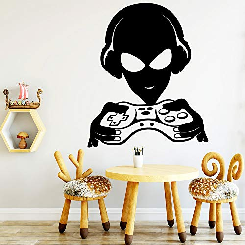 Kreative Gamer Wandaufkleber Vinyl Decor Für Kinderzimmer Spielzimmer Dekoration Abnehmbare Art Decals Wandbilder wallstickers-87x75cm