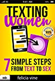 Texting Women: 7 Simple Steps From Text to Sex