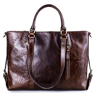 Greeniris sac à main bandoulière femme sac à main en cuir vintage voyage brun clair