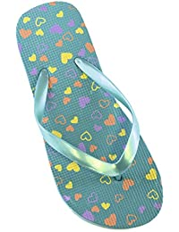 a2a26a3abfb Amazon.fr   Turquoise - Tongs   Chaussures fille   Chaussures et Sacs