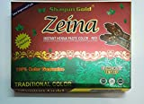 #10: Shagun Gold Red Ziena Paste Herbal Tube Temporary Tattoo Body Art Mehandi Instant Tattoo Paste 10 Pcs