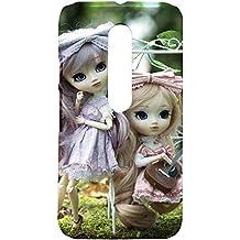 Fancy Interio Motorola Moto G 3rd Generation - Cute Pair of Dolls Hard Back Case Cover