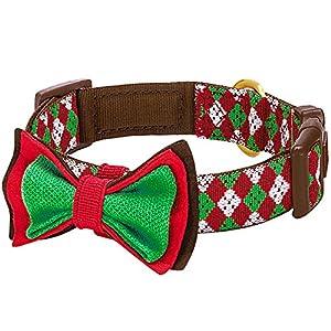 Nicht vieles l??t sich mit dem klassischen Argyle-Muster zur Weihnachtszeit vergleichen. Ihre sü?en Begleiter warten schon das ganze Jahr auf ihre Bescherung! Sie können ihnen mit diesem Hundehalsband Freude, Komfort und Spa? am Alltag schenken. Wir ...