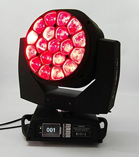 19x15W Bee 4in1 RGBW occhio LED di rotazione dello zoom fascio commovente spettacolo teatrale testa luce