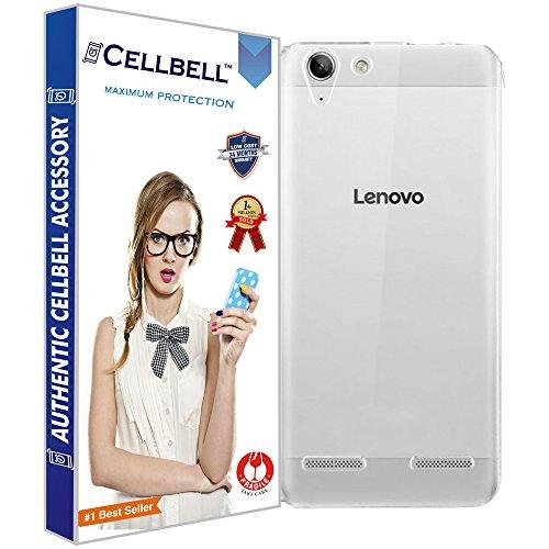 Cellbell Slim Transparent Flexible Soft Back Case Cover For Lenovo Vibe K5 Plus