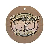 CafePress - Bread Baker Ornament (Round) - Round Holiday Christmas Ornament