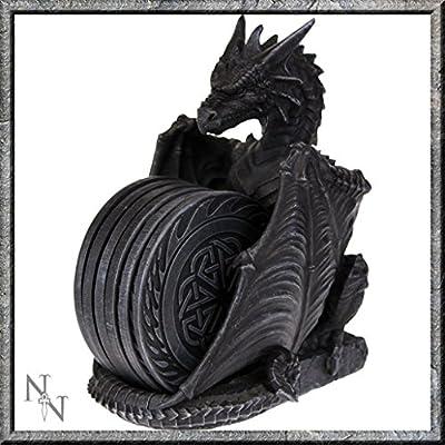 Stone Effect Dragon Coasters Gothic Decor