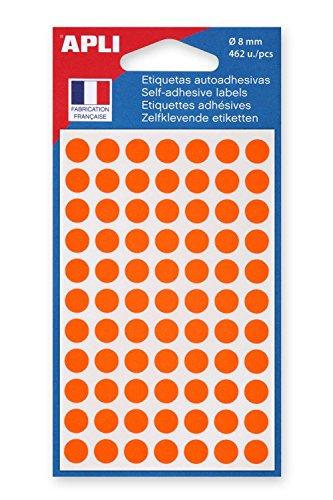 Agipa Marcadores, diámetro 8mm, redonda, color naranja