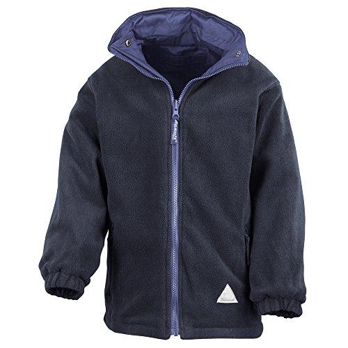 Result Junior/youth reversible StormDri 4000 fleece jacket Royal/ Navy 2XS Youth Reversible Jacket