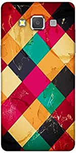 Snoogg Rhombbus Rainbows Solid Snap On - Back Cover All Around Protection For...