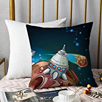HENGLI Soft Decorative Throw Pillow Cover Cushion Covers,Pillowcase Pillow Shams, for Sofa Bedroom Car Chair 18x18 Inch/45x45 cm