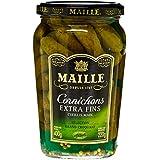Maille Cornichons Extra Fins Cueillis Main Le Pot 220 g - Lot de 4
