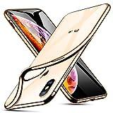 ESR Coque iPhone XS Max Silicone, Coque Transparente Gel Silicone TPU Souple avec...