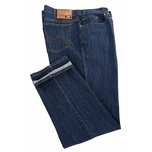 Jeans Maxfort Basic taglie forti uomo - Blu scuro, 72 GIROVITA 144 CM