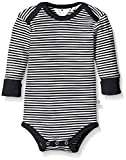 Müsli by Green Cotton Baby-Jungen Formender Body Stripe l/sl, Blau (Navy 019392301), 92