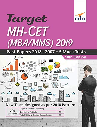 Target MH-CET (MBA/MMS) 2019 - Past (2018 - 2007) + 5 Mock Tests