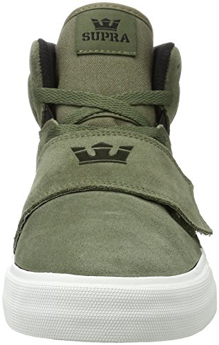 Supra Herren Rock Sneaker Grün (Olive-White)